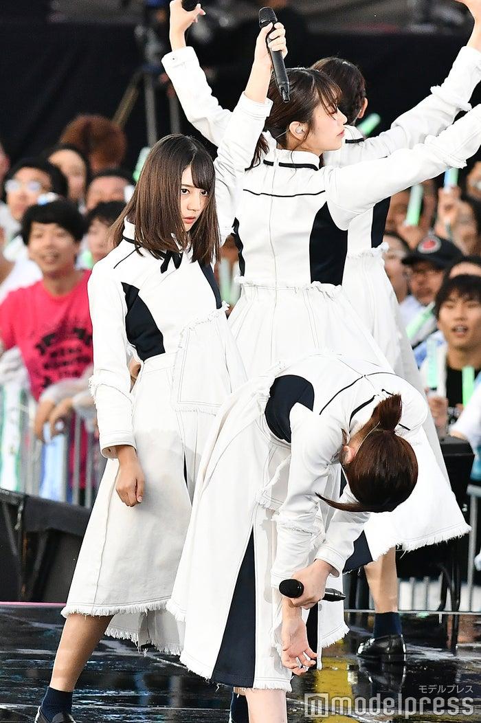 けやき坂46・2期生の小坂菜緒。グループ初の女性ファッション誌専属モデル(※『Seventeen』)。次世代エースとしてファンの期待は大きい。(C)モデルプレス