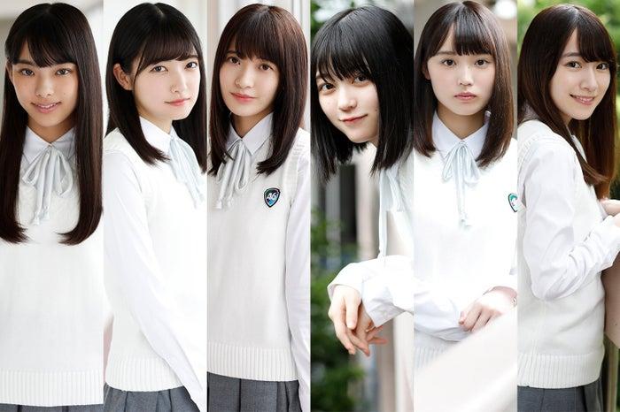 欅坂46に加入した(左から)遠藤光莉、大園玲、大沼晶保、幸阪茉里乃、増本綺良、守屋麗奈(提供画像)