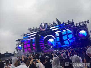 「ULTRA JAPAN」最終日、雨天でも熱狂の渦!世界トップDJに興奮