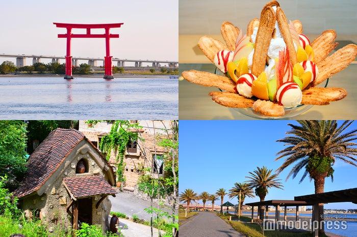 デカ盛りパフェに神秘的な水上鳥居…話題の静岡・浜名湖エリアへ日帰り女子旅(C)モデルプレス