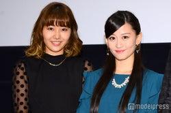 門脇佳奈子、上西恵(C)モデルプレス