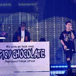 (左から)SPICY CHOCOLATE、清水翔太