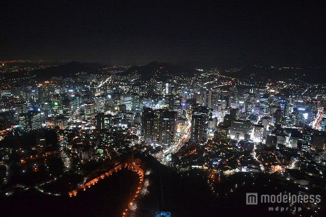 タワー内から見る最高の夜景/photo by MPD01605