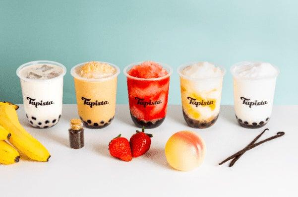 タピオカ専門店「タピスタ(Tapista)」果物スムージーなど新作メニュー5種/画像提供:Tapista