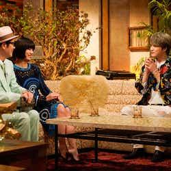 (左から)リリー・フランキー、池田エライザ、ジェジュン(C)NHK