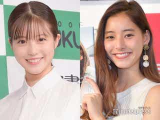 今田美桜、新木優子との密着2ショットで「SUITS/スーツ」クランクアップを報告「美女2人」「顔面偏差値高すぎ」と反響相次ぐ