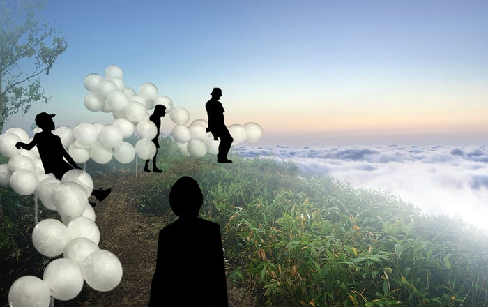 Cloud Bed/画像提供:星野リゾート