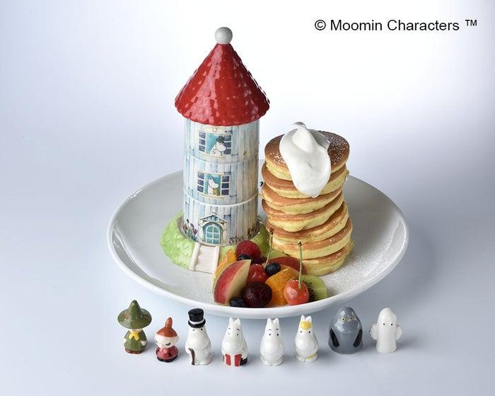 ムーミンハウスパンケーキ420$(台湾ドル)(C)Moomin Characters