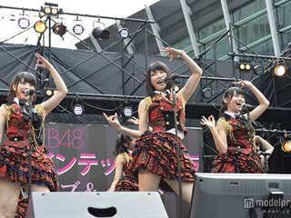 横山由依「新しいAKB48が始まっていく」 フリーライブ開催でファン熱狂