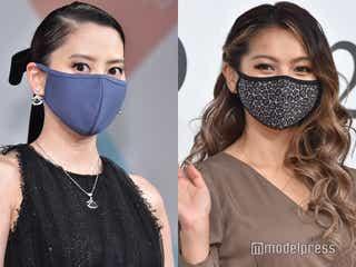 """河北麻友子&ゆきぽよ、""""withマスク""""時代でのファッション&メイクポイント語る「ベストマスクニストアワード」受賞"""