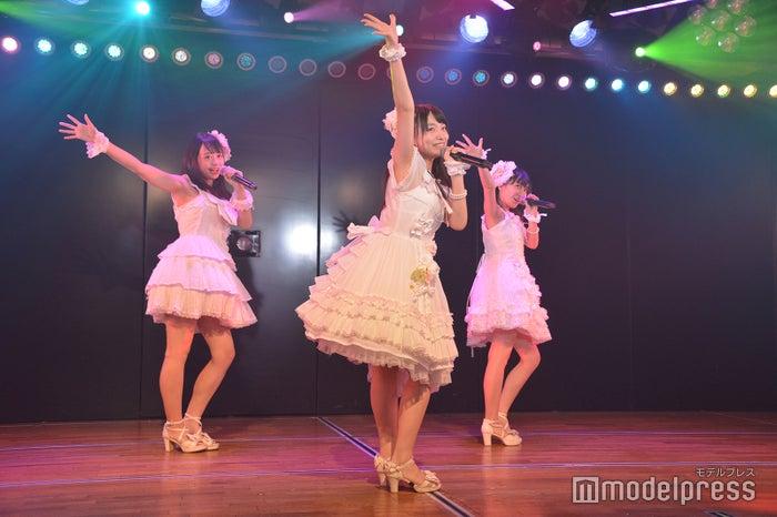 大盛真歩、久保怜音、山邊歩夢/AKB48高橋チームB「シアターの女神」公演(C)モデルプレス
