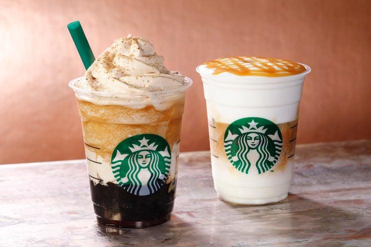 スタバ、コーヒーの贅沢感溢れる新フラペ ジェリー&ホイップにWで使用
