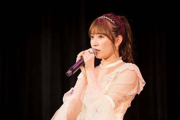 卒業を発表した吉田朱里(C)NMB48