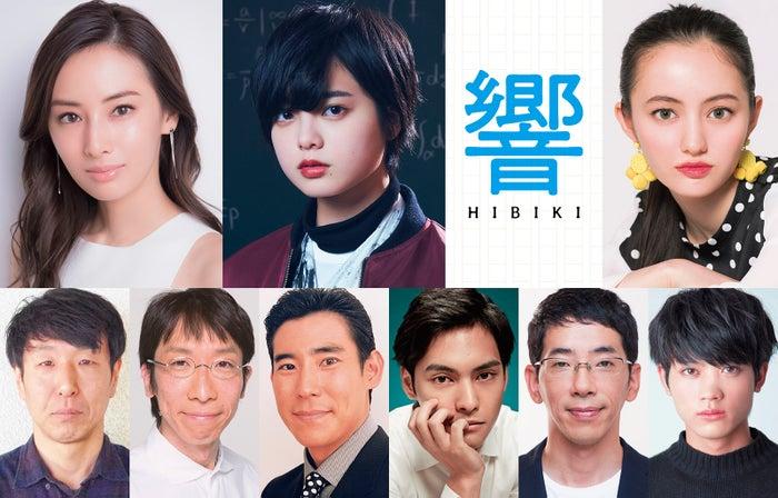 映画「響 -HIBIKI-」出演者発表(C)2018映画「響 -HIBIKI-」製作委員会