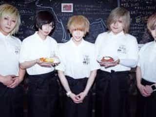 V系バンド・the Raid.が渋谷にカフェをオープン、コロナ禍で深刻な飲食業界とのコラボが実現!