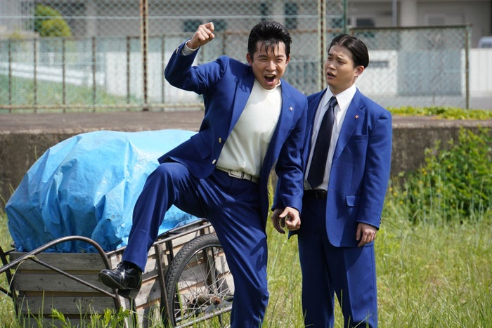 大賀・矢本悠馬/「今日から俺は!!」第1話より(C)日本テレビ