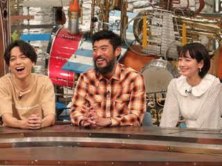 山崎育三郎、高嶋政宏、吉岡里帆(写真提供:関西テレビ)