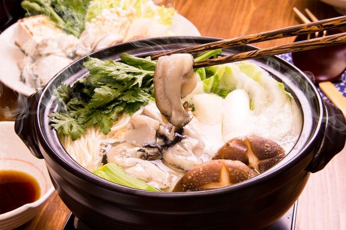 牡蠣鍋/画像提供:横浜赤レンガ倉庫