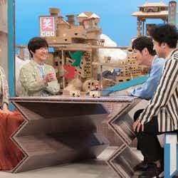 トークコーナーの様子(C)NHK