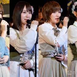 """モデルプレス - 結婚発表に""""勇気ある批判""""も AKB48高橋朱里ら次世代4人のスピーチがファンの心を打った理由<第9回AKB48選抜総選挙>"""