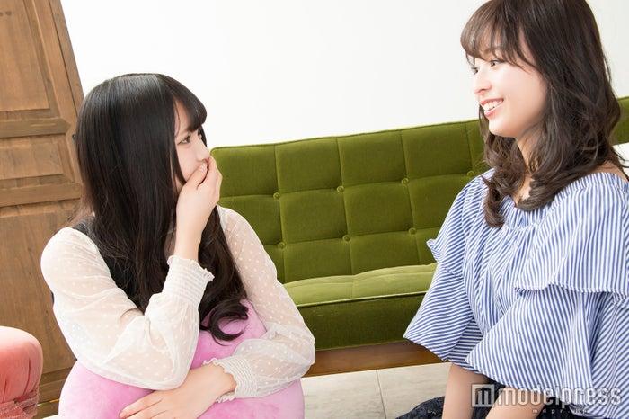 津代美月さん、黒口那津さん(C)モデルプレス