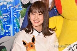 川栄李奈、明るい女子高生役に苦戦?「私は普段暗いので…」<劇場版ポケットモンスター みんなの物語>