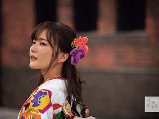 乃木坂46生田絵梨花、鮮やかな振袖姿で魅了