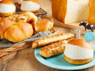 生クリーム専門店「ミルク」大阪難波にベーカリー併設店、究極の生クリームパンやソフトクリーム