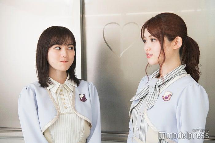 """""""からあげ姉妹""""生田絵梨花&松村沙友理(C)モデルプレス"""