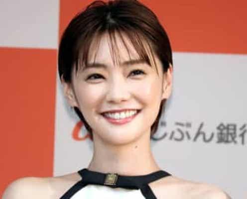倉科カナ、話題の「anan」表紙と見比べられて照れ笑い ファン「本当にキレイ」