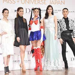 左から:神山まりあ、美馬寛子、加藤遊海、阿部桃子、西村宏堂氏 (C)Naoko Takeuchi/(C)モデルプレス