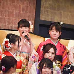 緊張する藤本冬香/AKB48グループ成人式記念撮影会 (C)モデルプレス