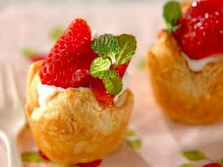 ヘルシーに、作りたてを食べたい!おうちで簡単「イチゴのパイ」