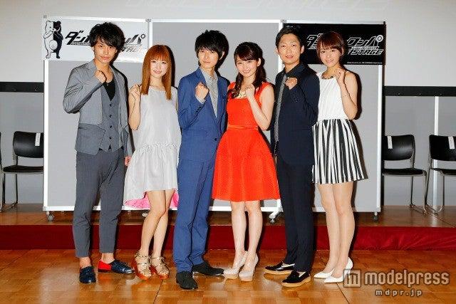 制作発表より(左から)小澤亮太、神田沙也加、本郷奏多、岡本玲、石田明、大沢ひかる