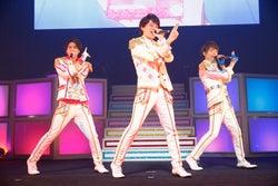 石原壮馬、富田健太郎、溝口琢矢/写真: Rie Suwaki(MAXPHOTO)