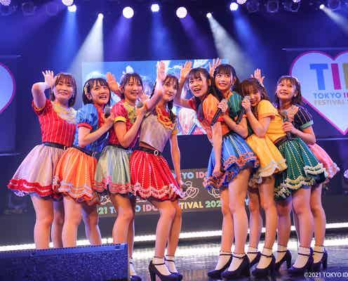 AKB48、千葉恵里ら若手選抜8人で「TIF」メインステージ 新曲も初披露<TIF2021>