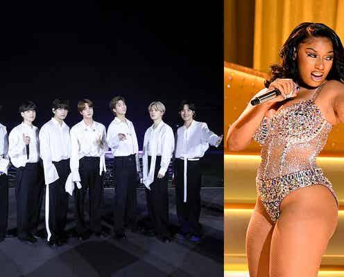BTS、グラミー3冠ミーガン・ジー・スタリオンと初コラボ「Butter」新リミックスをリリース