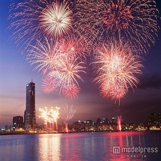 世界中の花火師の総力を結集して行う「ソウル世界花火祭り」/画像提供:韓国観光公社