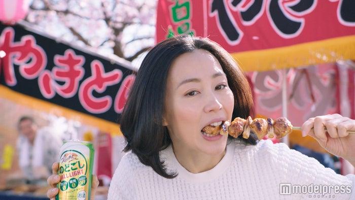 木村佳乃さんの食べっぷりが「ステキ!」