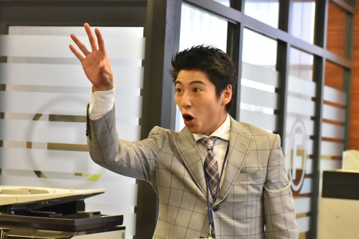 ウィケ杉の勢いがすごい!(C)NTV