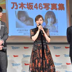 (左から)田中圭、白石麻衣、中村倫也(C)モデルプレス