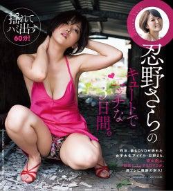 忍野さら 付録DVD(C)佐藤佑一/週刊プレイボーイ