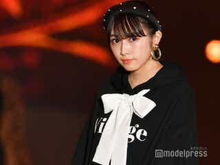 欅坂46渡辺梨加、ドーリーフェイスで観客魅了<GirlsAward 2019 A/W>