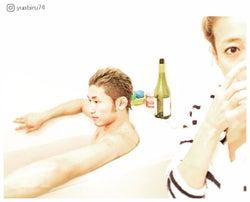 """あびる優、お風呂で夫・才賀紀左衛門と""""夫婦時間"""" ラブラブぶりに「理想」「素敵な夫婦」と反響"""
