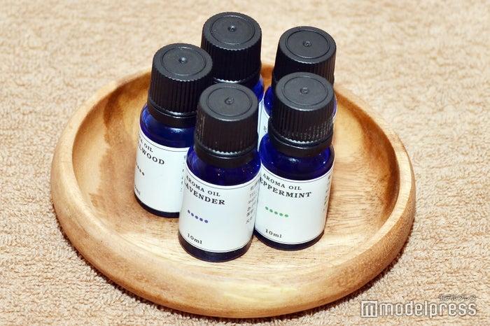 スパ「La Villa」で使用されるマッサージオイルは好きな香りを選べる(C)モデルプレス