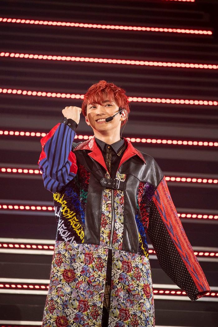 ユーキ/「BULLET TRAIN Arena Tour 2018 GOLDEN EPOCH at OSAKA-JO HALL」より(画像提供:SDR)