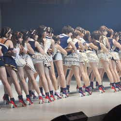 AKB48(「AKB48 22ndシングル 選抜総選挙、6月9日撮影)