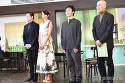 草なぎ剛、宮沢りえ、本木雅弘、CM監督の中島信也氏(C)モデルプレス