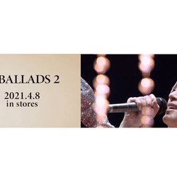 浜崎あゆみ、4/8リリースベストアルバム『A BALLADS 2』の一部収録内容を解禁