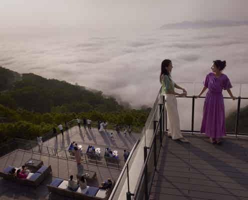 星野リゾート トマム「雲海テラス」新展望デッキで雲海が目の前に!雲Cafeも新設